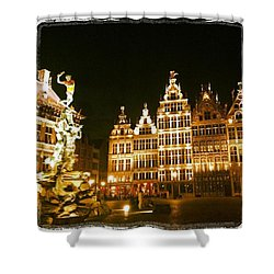 Amazing Romantic Antwerp Shower Curtain