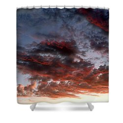 Spectacular Clouds  Shower Curtain