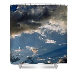 Amazing Sky Photo Shower Curtain