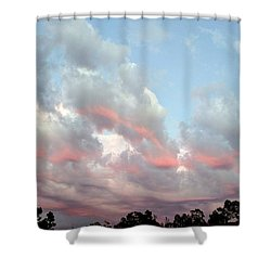 Amazing Clouds At Dusk Shower Curtain