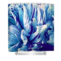 Amazing Dahlia Shower Curtain