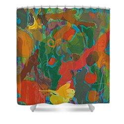 Amazon Shower Curtain by David Klaboe