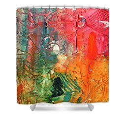 Amazon Shower Curtain by Phil Strang