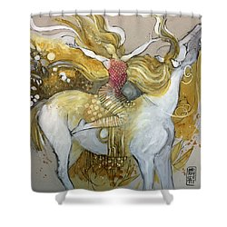 Amazone Shower Curtain by Alessandro Andreuccetti