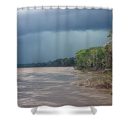 Amazonian Storm Study Number One Shower Curtain