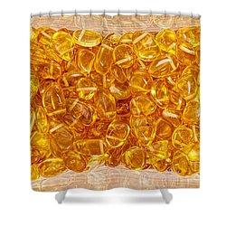 Amber #4903 Shower Curtain
