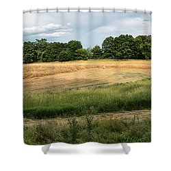 Amber Field -  Shower Curtain
