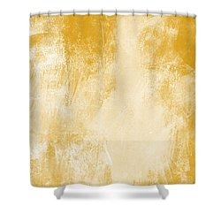 Amber Waves Shower Curtain by Linda Woods
