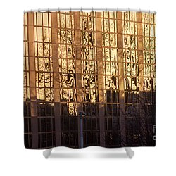 Amber Window Shower Curtain