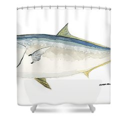Amberjack Shower Curtain