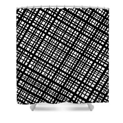 Shower Curtain featuring the digital art Ambient 35 by Bruce Stanfield