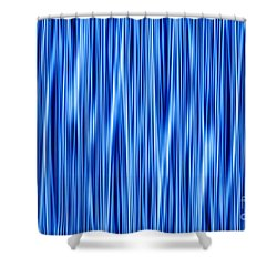 Shower Curtain featuring the digital art Ambient 8 by Bruce Stanfield