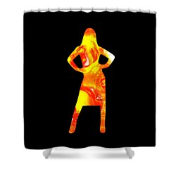 Ambitious Shower Curtain by Anastasiya Malakhova