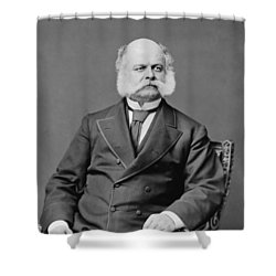 Ambrose Burnside And His Sideburns Shower Curtain by War Is Hell Store