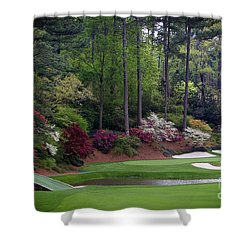 Amen Corner Augusta Shower Curtain