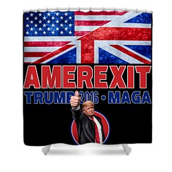 Amerexit Shower Curtain