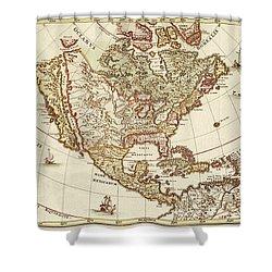 America Borealis 1699 Shower Curtain