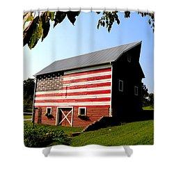 Americana 1 Desoto Kansas Shower Curtain