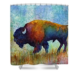 American Buffalo 5 Shower Curtain