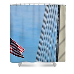 American Afternoon Shower Curtain