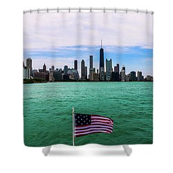American Chi 2 Shower Curtain