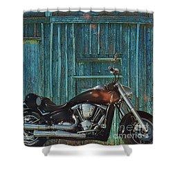 American Chopper Shower Curtain