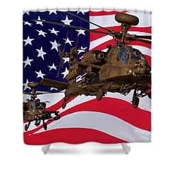 American Choppers Shower Curtain
