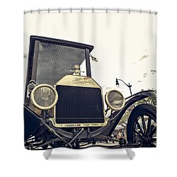 American Classic Shower Curtain by Caitlyn  Grasso