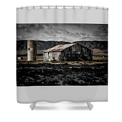 American Cylo - Lancaster, California  Shower Curtain
