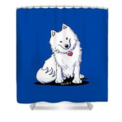 American Eski Shower Curtain