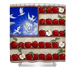 American Fantasy Shower Curtain by Linda Mears