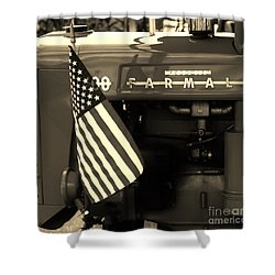 American Farmall Shower Curtain