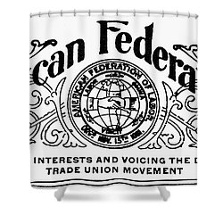 American Federationist Shower Curtain by Granger