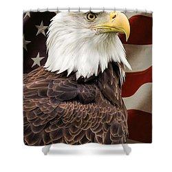 American Freedom Shower Curtain