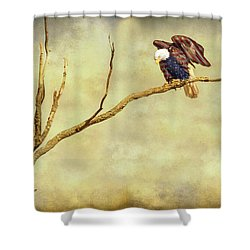 Shower Curtain featuring the photograph American Freedom by James BO Insogna