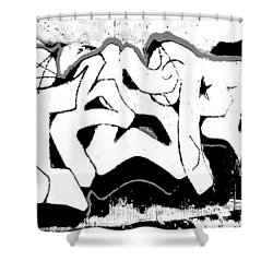 American Graffiti 1 Shower Curtain
