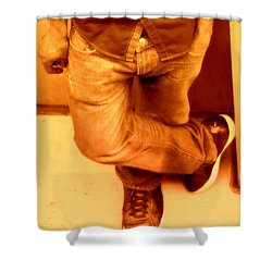 American Guy Shower Curtain