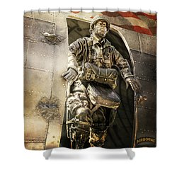 American Hero Shower Curtain