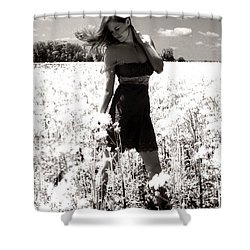 American Honey Shower Curtain