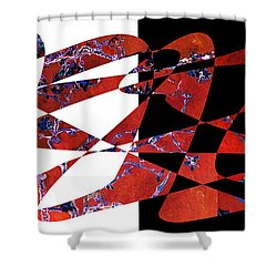American Intellectual 6 Shower Curtain