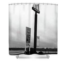 Shower Curtain featuring the photograph American Interstate - Illinois I-55 by Frank Romeo