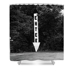 American Interstate - Missouri I-70 Bw Shower Curtain