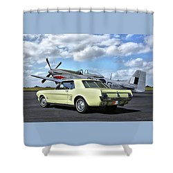 American Legends Shower Curtain