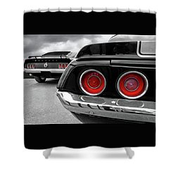 American Muscle Shower Curtain