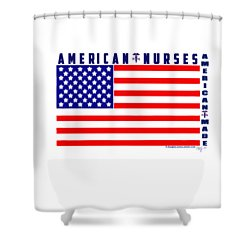 American Nurses Shower Curtain
