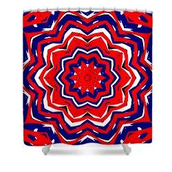 Kaleidoscope 5555 Shower Curtain