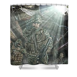 American Patriots Shower Curtain