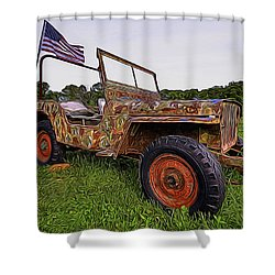 American Pride Shower Curtain