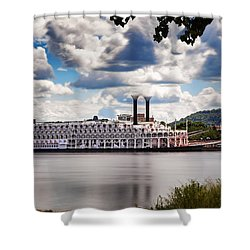 American Queen In Winona Shower Curtain