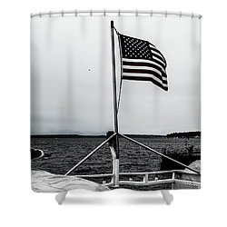 American Seattle Shower Curtain